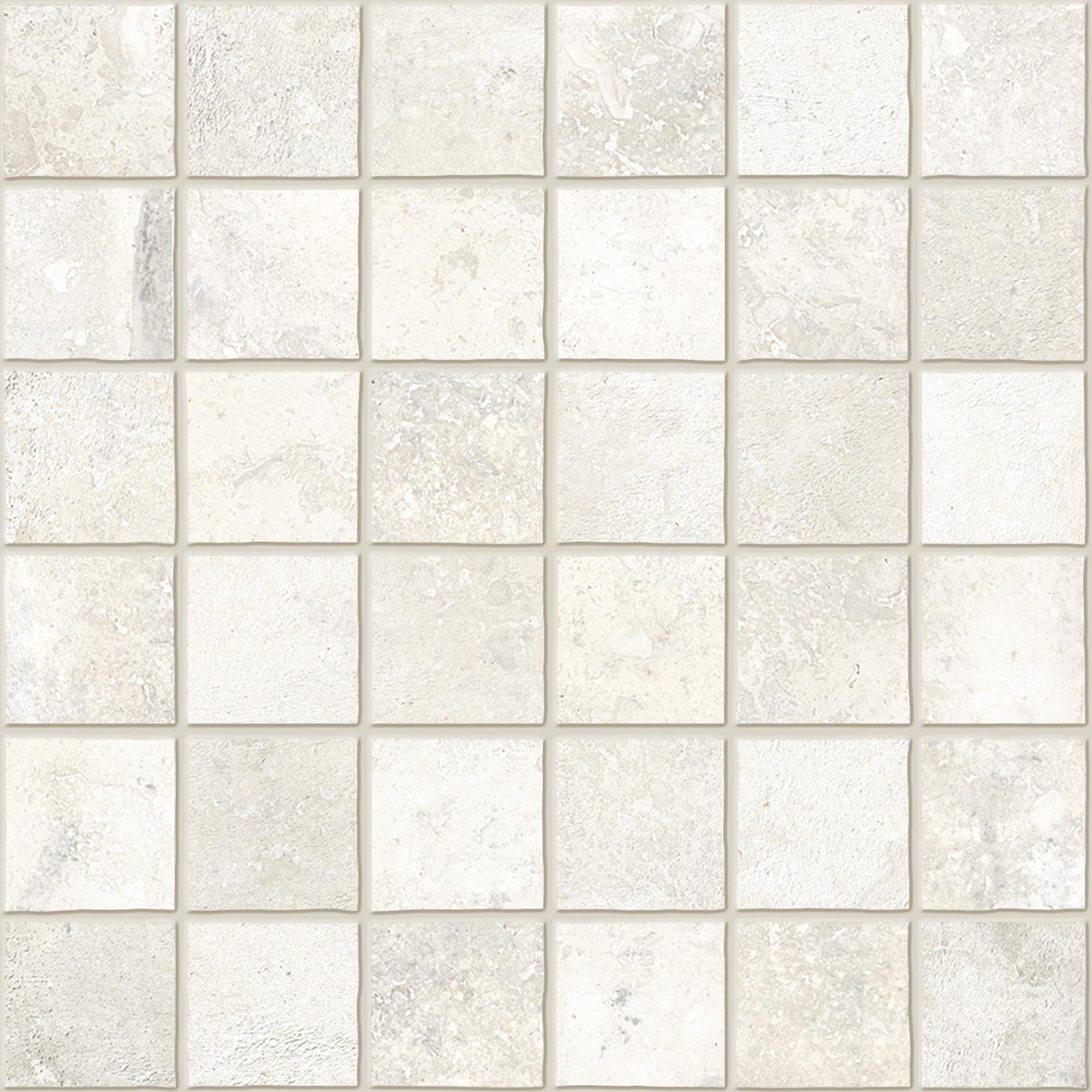 Mosaico Su Rete Burattato Olimpia